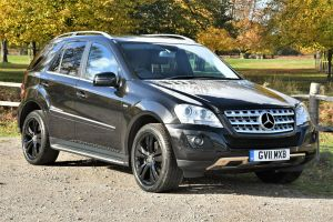 Used MERCEDES M-CLASS in Hampton Court, Surrey for sale