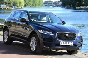 Used JAGUAR F-PACE in Hampton Court, Surrey for sale
